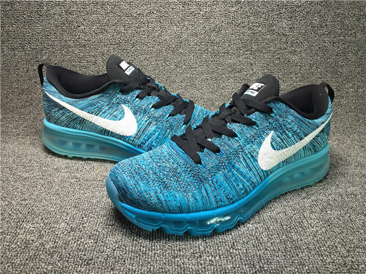 Nike Flyknit Air Max Turquoise/black/white