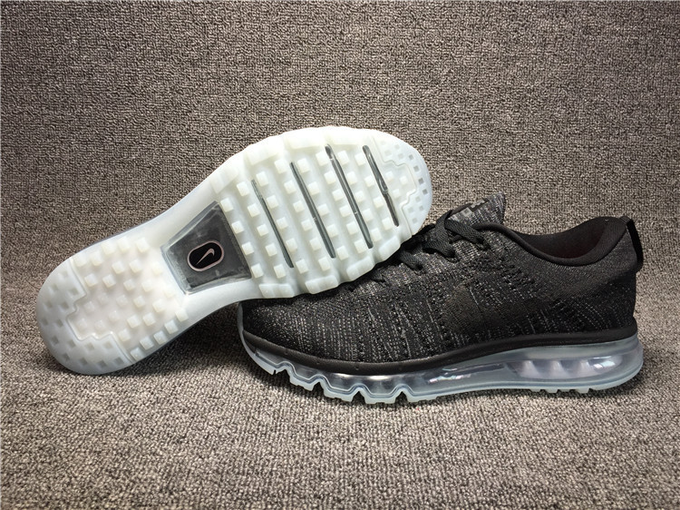 Nike Flyknit Air Max Alien White/Black