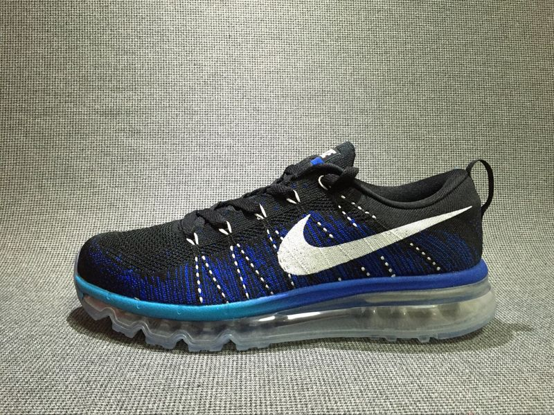 Nike Flyknit Air Max Alien Blue/White/Black