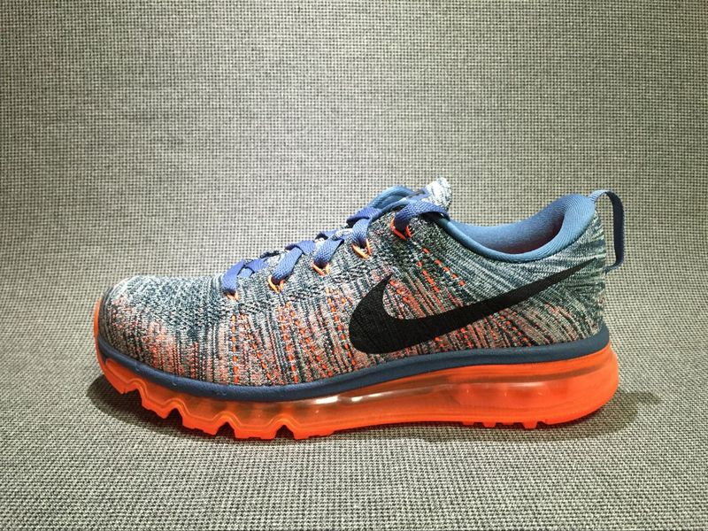 Nike Flyknit Air Max Alien orangered/gray