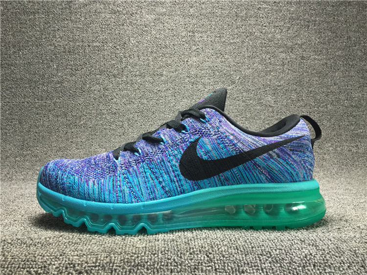 Nike Flyknit Air Max Alien Blue Zircon/Blue Lotus