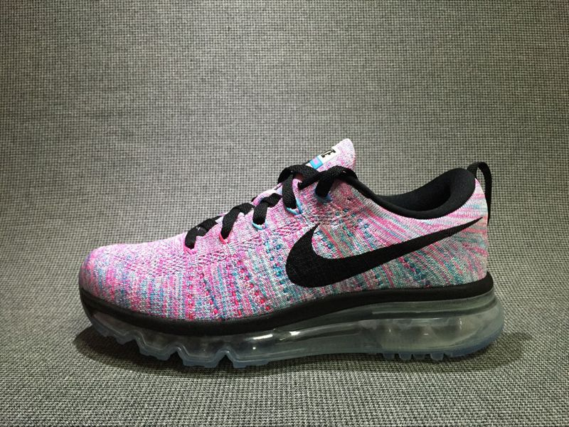 competitive price 1a1fb 84c43 Nike Flyknit Air Max White Chlorine Blue Pink Blast Black larger image