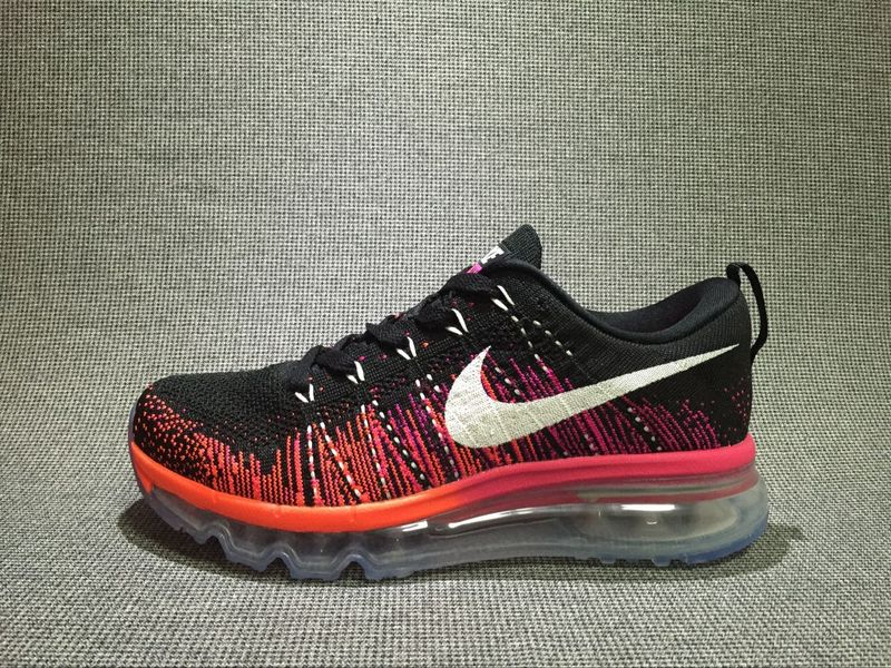 Nike Flyknit Air Max Dark Orange/Black
