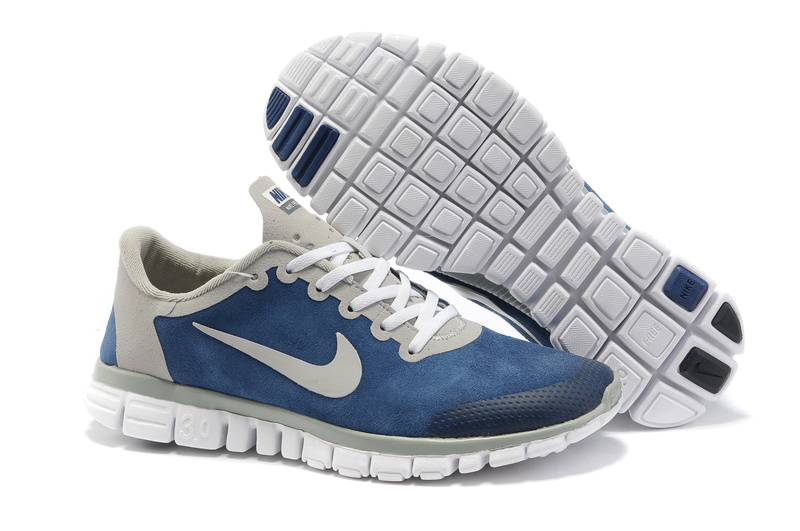 Nike Free 3.0 V2 Shoes white/gray/Navy