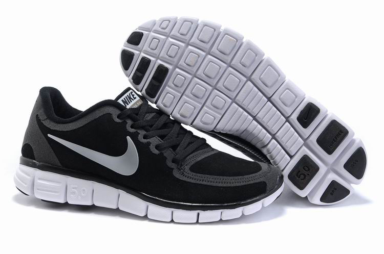 Nike Free 5.0 white/black/gray II