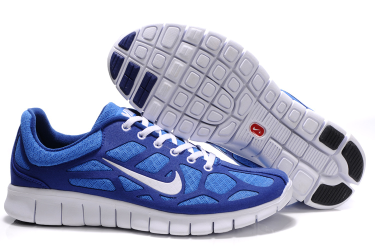 Nike Free Run 3 white/blue
