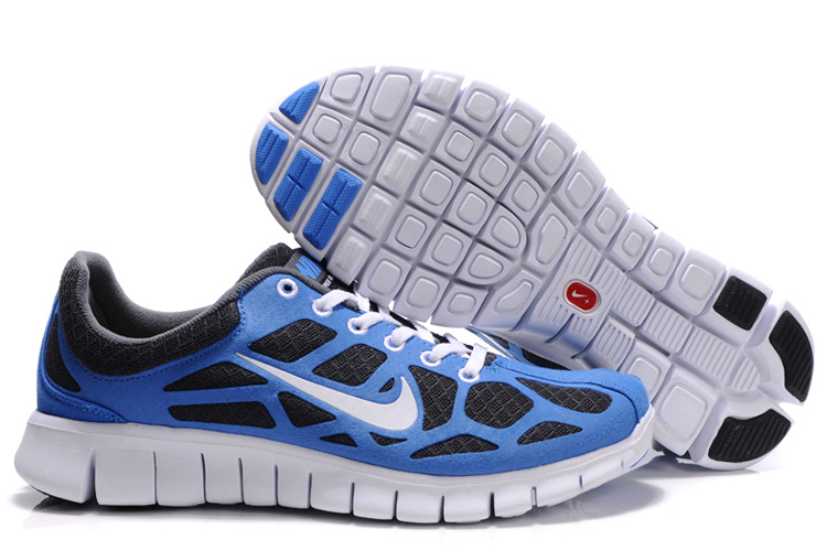Nike Free Run 3 white/black/blue