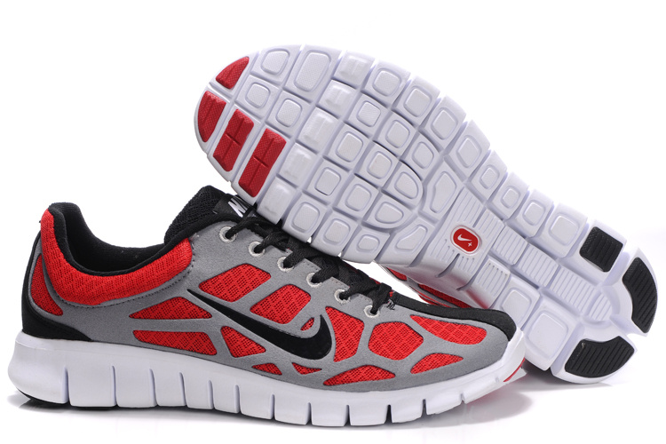 Nike Free Run 3 white/black/red
