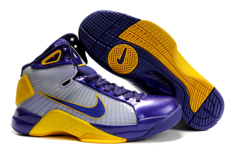 Nike Zoom Hyperdunk TB deep purple/white/gold