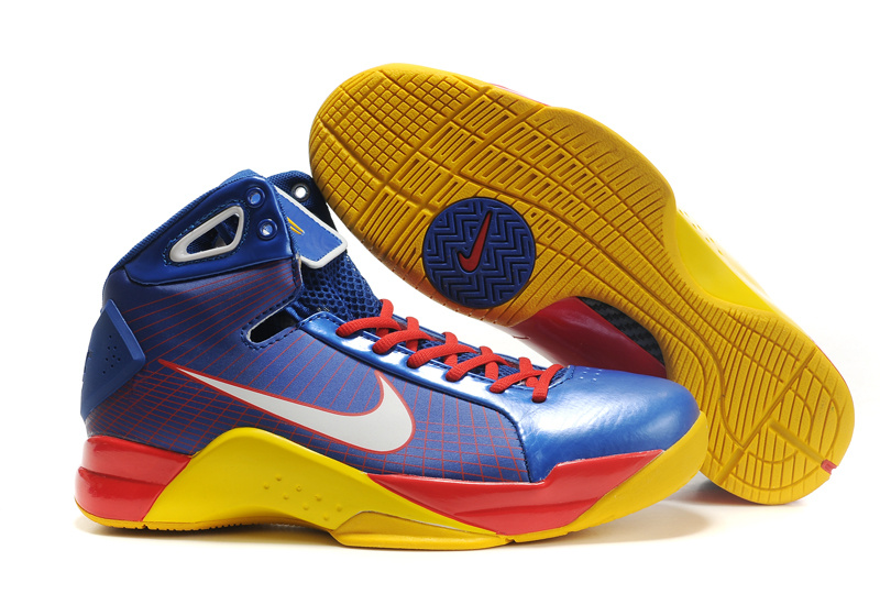 Nike Zoom Hyperdunk TB red/gold/blue