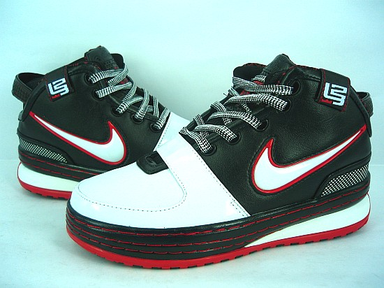 Nike James 6 black/white/red III