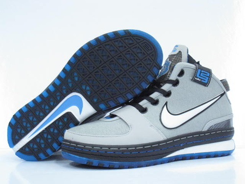 Nike James 6 black/gray/deepskyblue II
