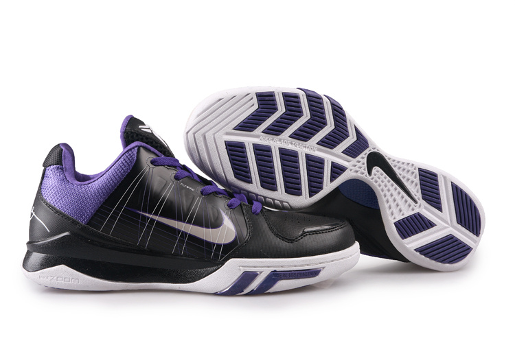 Nike Zoom Kobe 5.5 white/black/blueviolet II