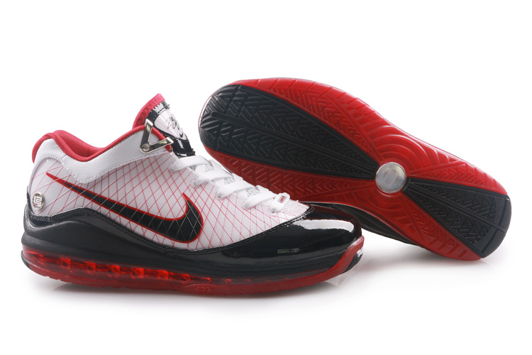 Nike Air Max Lebron Low 7 white/black/red