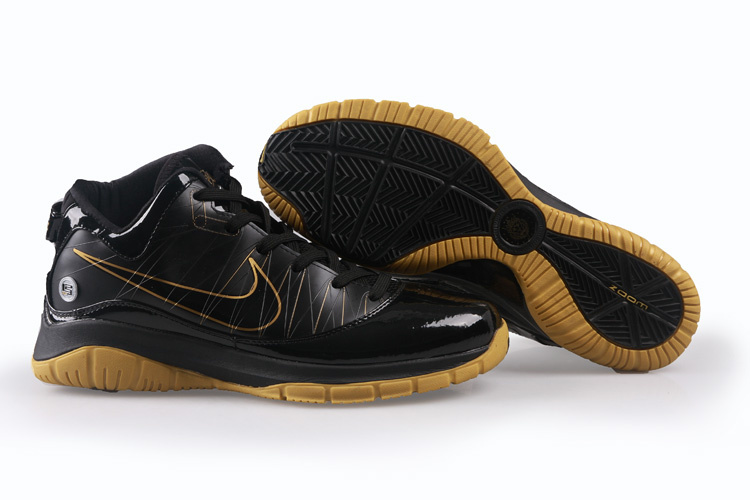 Nike Lebron VII PS Shoes black/golden