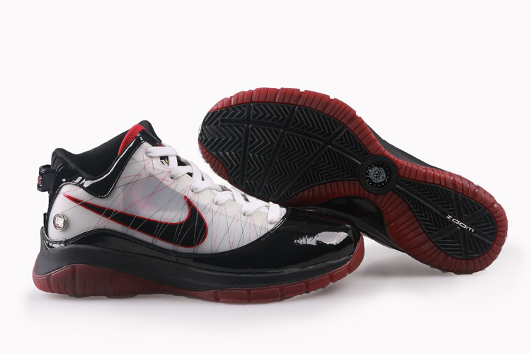 Nike Lebron VII PS Shoes black/white/red