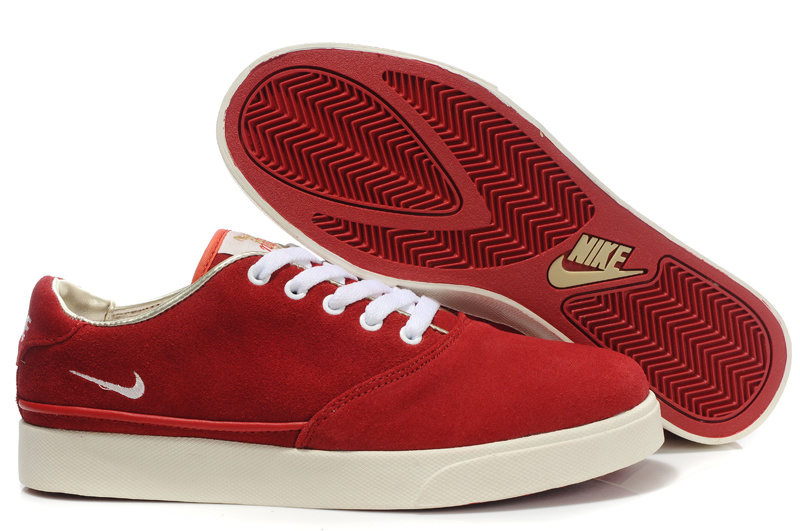 Nike Pepper Low Womens white/red