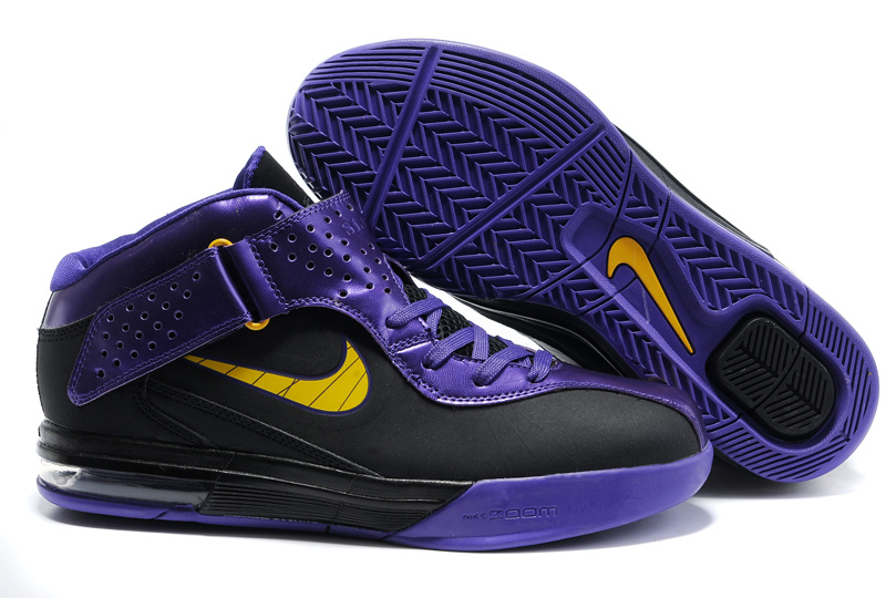 Nike Zoom Soldier 5 black/gold/blueviolet
