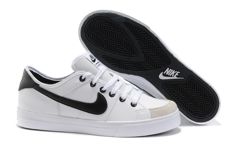 Nike Sweet Classic Leather Shoes black/white/gray
