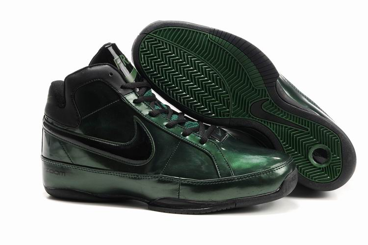Nike BB III Shoes black/darkgreen