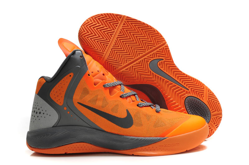 Nike Zoom Hyper Force gray/orangered