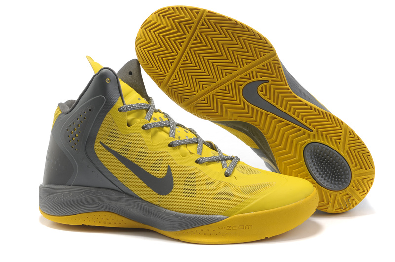 Nike Zoom Hyper Force gray/gold