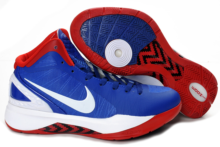 Nike Hyperdunk 2012 white/red/blue