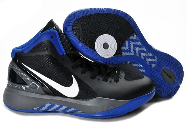Nike Hyperdunk 2012 white/black/blue