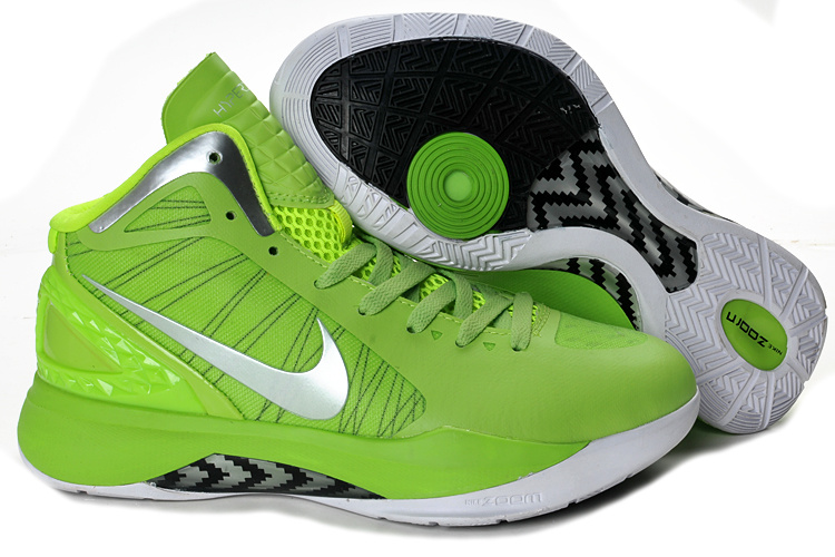 Nike Hyperdunk 2012 black/white/lawngreen