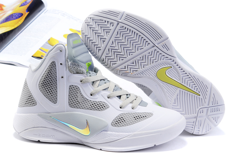 Nike Zoom Hyperfuse 2011 Shoes white
