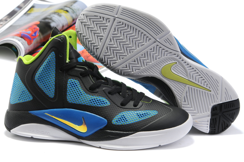 Nike Zoom Hyperfuse 2011 Shoes black/lightslateblue