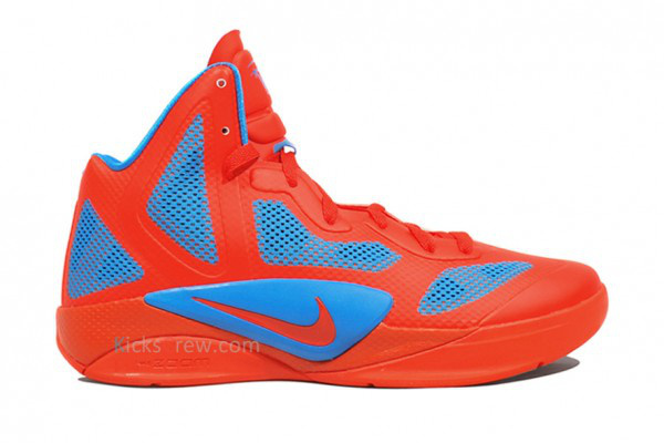 Nike Zoom Hyperfuse 2011 Shoes Red/Blue II