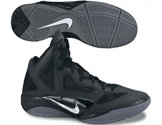 Nike Zoom Hyperfuse 2011 Shoes black/white