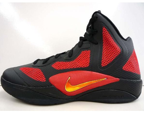 Nike Zoom Hyperfuse 2011 Shoes black/red