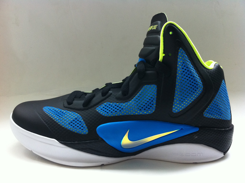 Nike Zoom Hyperfuse 2011 Shoes black/blue