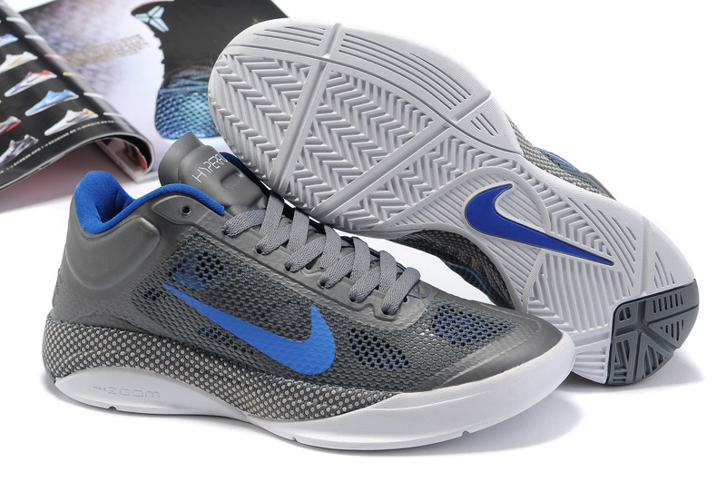 Nike Zoom Hyperfuse Low Shoes white/blue/gray