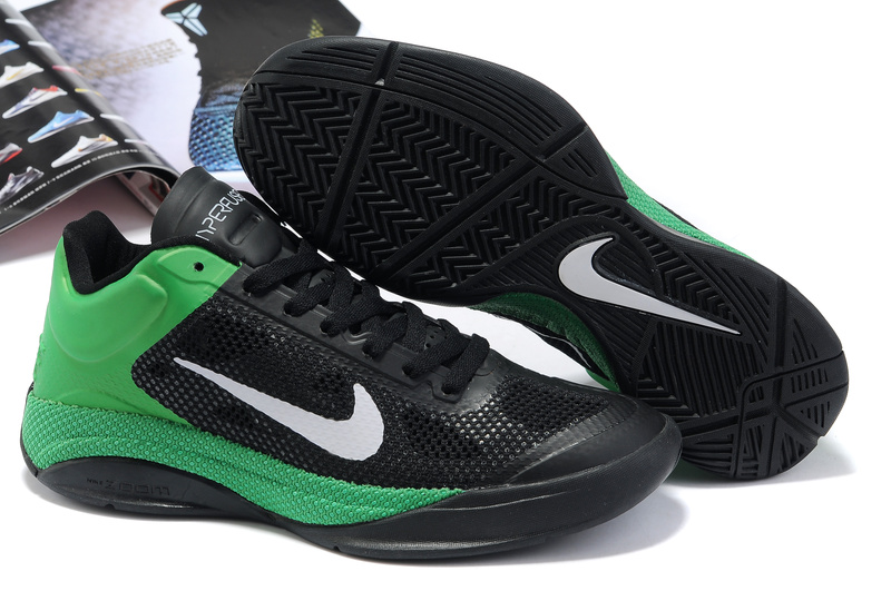 Nike Zoom Hyperfuse Low Shoes white/black/green
