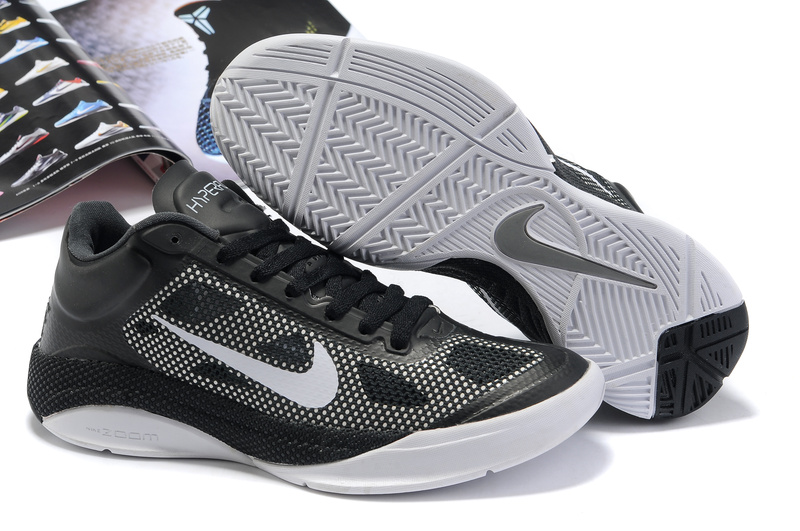 Nike Zoom Hyperfuse Low Shoes white/black