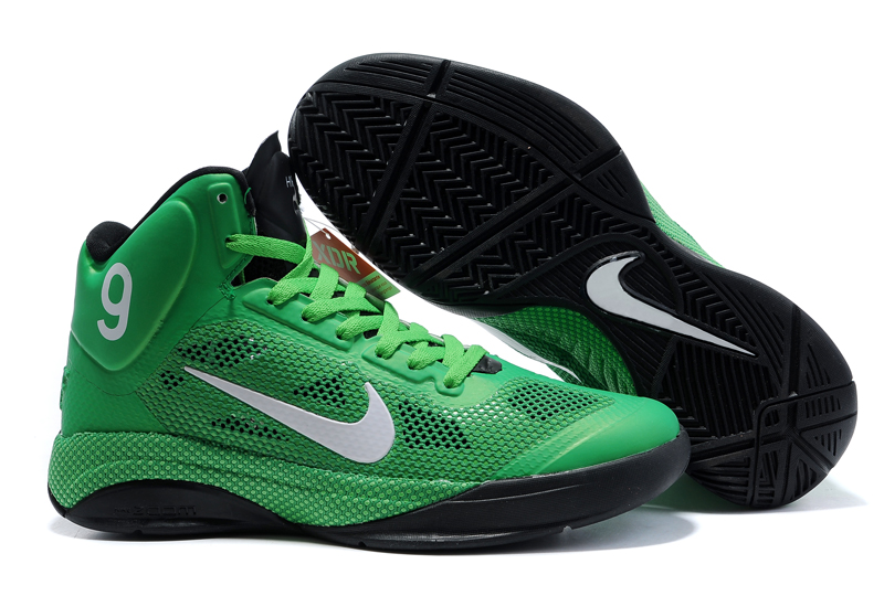 Nike Zoom Hyperfuse 2012 white/green/black