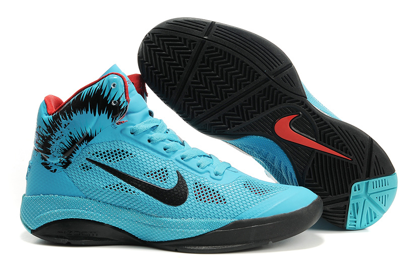 Nike Zoom Hyperfuse 2012 black/deepskyblue/red