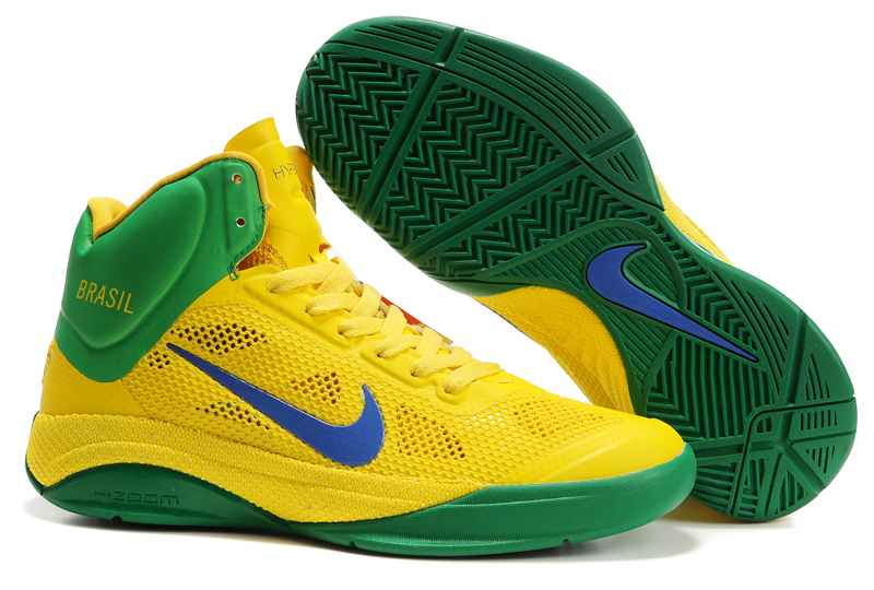 Nike Zoom Hyperfuse 2012 green/gold/blue