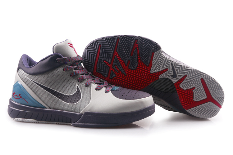 Nike Kobe 4 white/darkslateblue/red