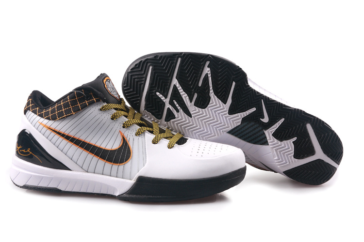 Nike Kobe 4 black/white/orangered