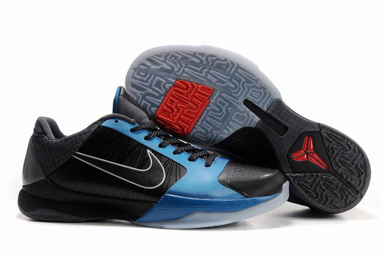 Nike Kobe V Shoes black/white/dodgerblue