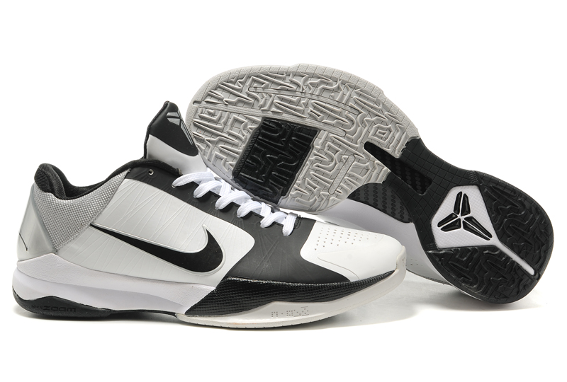 Nike Kobe V Shoes black/white
