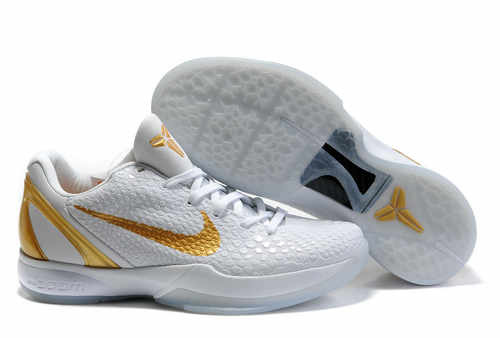Nike Kobe VI white/golden