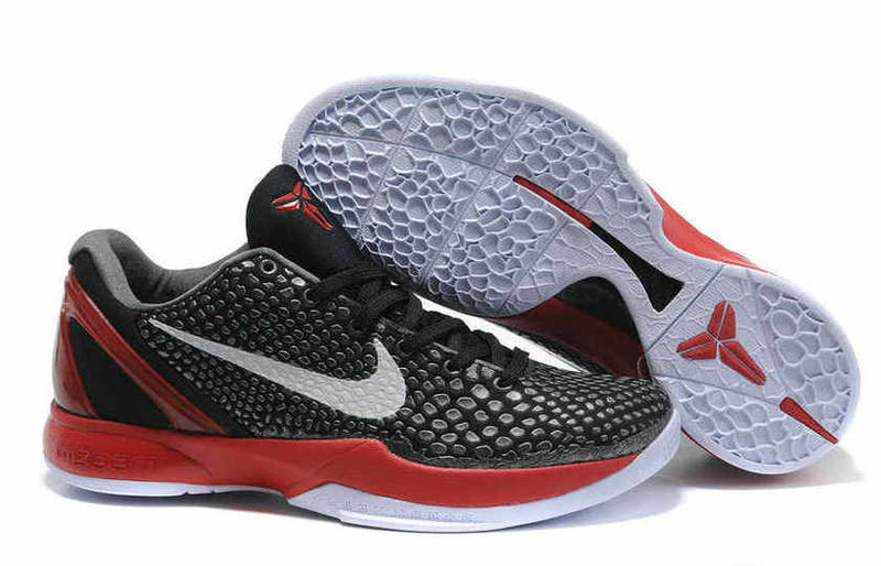 Nike Kobe VI black/white/red