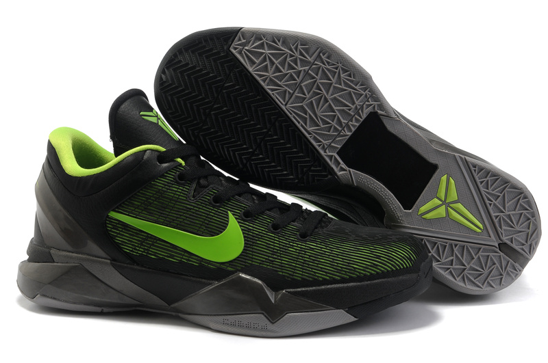 Nike Kobe VII black/gray/lawngreen