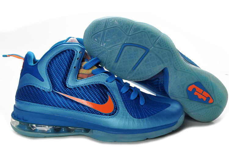 Nike Lebron 9 dodgerblue/blue