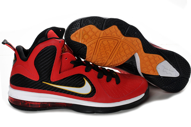 Nike Lebron 9 red/black